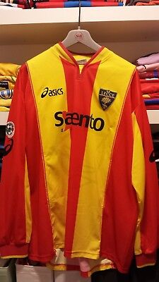 Maglia Indossata U.s. Lecce 2001-2002 Match Worn Shirt Jersey Player Issued