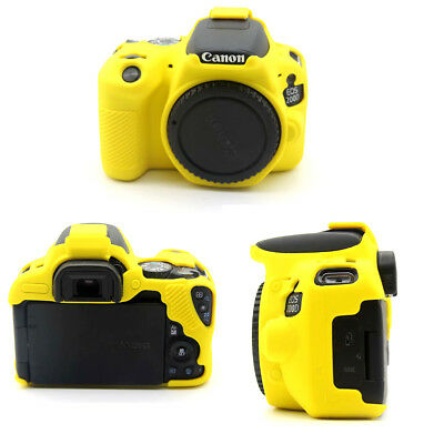 Camera Soft Silicone Case For Canon EOS 200D Body Protect Cover Bag