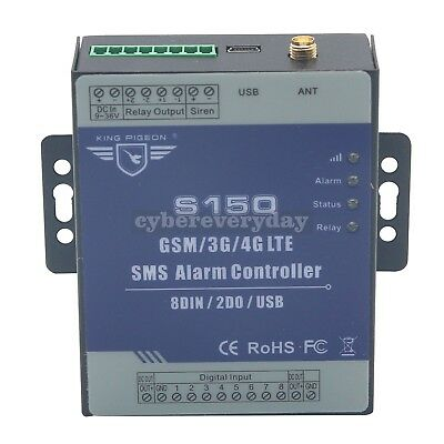 S150 GSM SMS Door Remote Controller Alarm Relay Switch support Android/ios APP