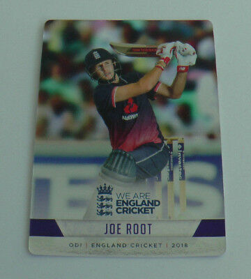 ROOT #072 SILVER FOIL PARALLEL CARD tap n play ENGLAND CRICKET 2018 ECB MINT
