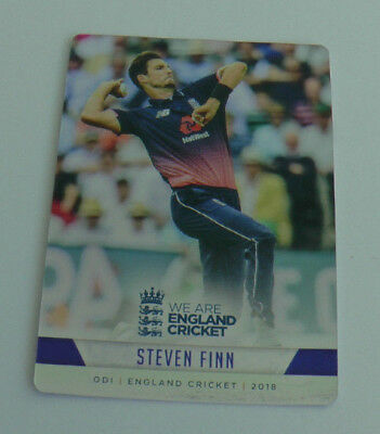 FINN #068 SILVER FOIL PARALLEL CARD tap n play ENGLAND CRICKET 2018 ECB MINT