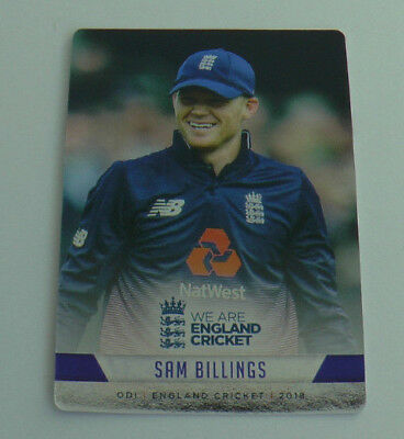 BILLINGS #065 SILVER FOIL PARALLEL CARD tap n play ENGLAND CRICKET 2018 ECB MINT