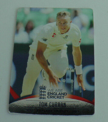 CURRAN #011 SILVER FOIL PARALLEL CARD tap n play ENGLAND CRICKET 2018 ECB MINT