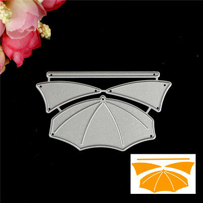 Umbrella Design Metal Cutting Die For DIY Scrapbooking Album Paper Cards EW