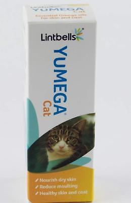 Yumega Cat Skin & Coat Supplement 50ml, B.B.E/O.O.D, 24.02.18