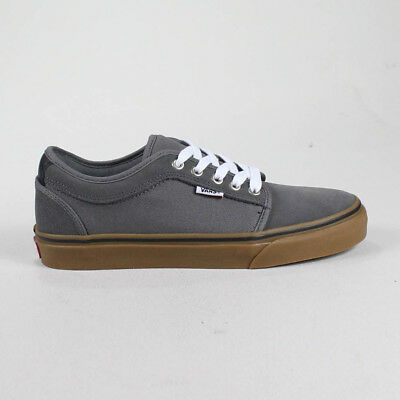 9f1219d8bc1b2a Vans Chukka Low Trainers Pumps Shoes in Pewter White Gum in UK Size 7