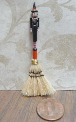 Sweet 1:12 Scale Miniature Dianne Jones Halloween Witch Broom