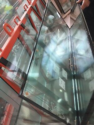 ON HOLD! D/glazed Glass Panel 714x1864 (2x4 mm Clear Toughened Panels+14 mm spa)