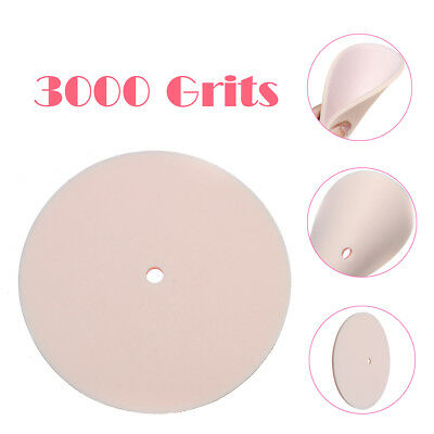 3000 Grits 6'' Bowling Ball Grinding Pads Sanding Frosting Surface Treatment
