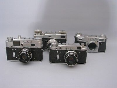 Russian Rangefinder Cameras. See Description.