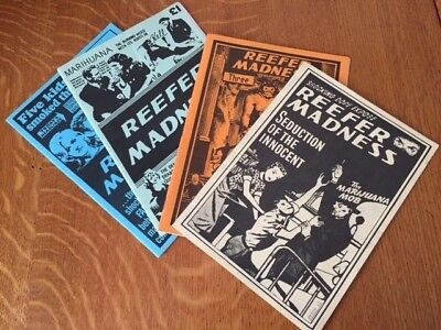 Reefer Madness magazines - Issues 2,3,4,5 Rare and excellent condition