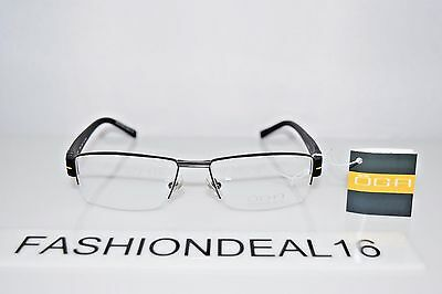 New OGA Authentic 7923O GN060 Black Yellow Optical RX 55-17-135 Eyeglasses