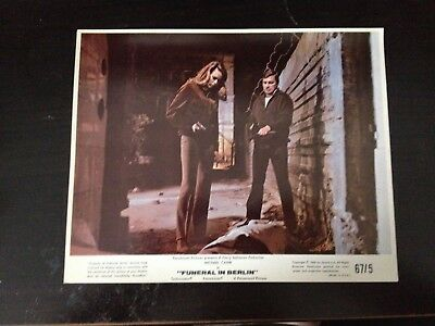 Michael Caine - Funeral In Berlin - Original Unsigned Colour Lobby Card