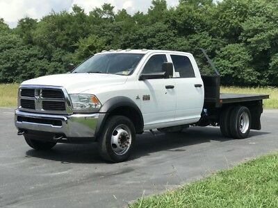 2012 Ram 5500  2012 Ram 5500 Crew Cab   Cummins  Automatic   9' Steel Bed