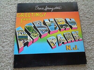 Bruce springsteen greetings from asbury park lp vinyl 1973 bruce springsteen greetings from asbury park nj lp cbs records 1973 m4hsunfo