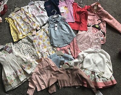 Bundle Of 12-18 Month Girls Clothes Inc: Next , Baby Gap, Mothercare