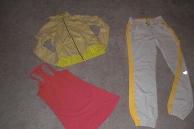 Lot of Rare Lululemon Seawheeze Pants,  Jacket and Tank sz 4
