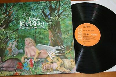 Jose Feliciano- That the spirit needs, Vinyl; LP; Rock; FOC