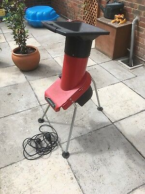electric garden shredder chipper
