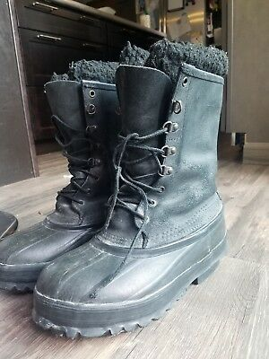 bc2ca849d73e Lacrosse Iceman Ice Man Winter Snow Boots Mens 8 Very Good Condition Felt  Liners