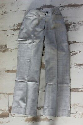 Vintage and nine Pants suit child - Gray Beige - Tergal - 31 cm size