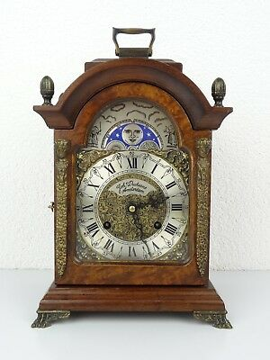 ALMA Vintage Antique Dutch Mantel Mantle Clock (Warmink Hermle Junghans era)