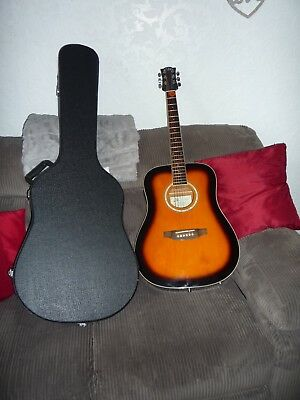 56605544d2 Spider Dreadnought Acoustic Guitar Hard Case.