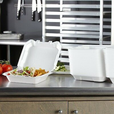 """One-Compartment Hinged Lid food Container by Hefty (125 ct.)9.5""""L x 9""""W x 3""""H"""