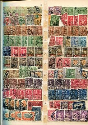 Thailand stamp collection- around 800 stamps