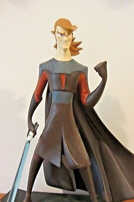 Star Wars Clone Wars Animated Anakin Skywalker Maquette by Gentle Giant LE 3000