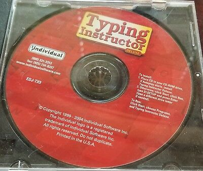 Typing Instructor Deluxe CD