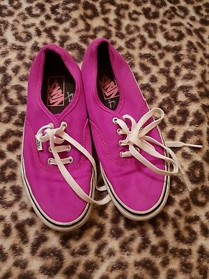 Purple Vans Sneakers 7.5