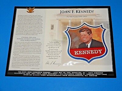 Willabee & Ward U.S. Presidential Patch Collection Patch John F Kennedy