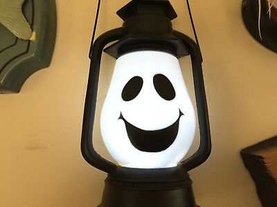 2017 Halloween Flashing Sound Ghost Lantern