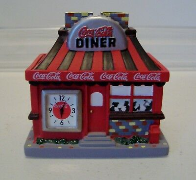 2003 Collectible Coca Cola Ceramic Canister Collection City Diner