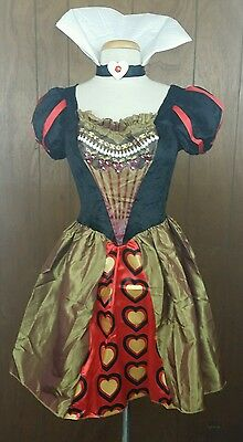 Movie Alice in Wonderland Sexy Red Queen Disguise Costume For Adult Size S (4-6)