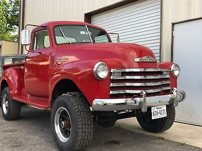 1950 Chevrolet Other Pickups PICK UP 1950 CHEVY TRUCK 3100, 4X4, POWER STEERING AND POWER BRAKES.