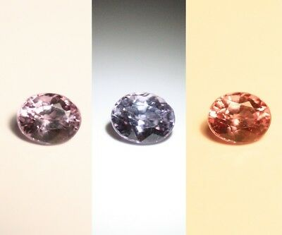 0.59ct Colour Change Garnet - Custom Cut Gem with Rare Superb Colour Change