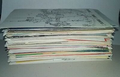 Ham amateur radio QSL cards USA and international LOT of about 175 lots of color