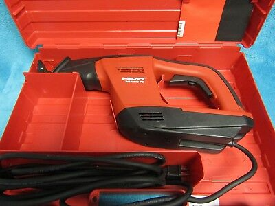 Hilti WSR 900 PE reciprocating saw  w/case in outstanding condition take a look