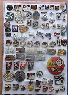 Selection of good pins hockey clubs of the USSR