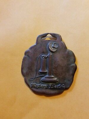 vintage Western Electric Telephone Watch Fob