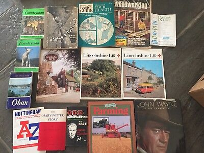 Assorted Books And Magazines