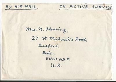 1947 Singapore South East Asia Land Force To  Uk  F.p.o.18 (54)