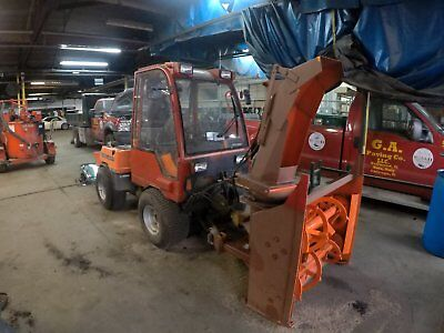 2002 HOLDER C240 Tractor + Snow Blower attachment - USED; GREAT CONDITION