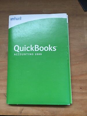 Quickbooks Accounting 2009 For Windows XP/Vista