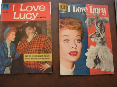 I LOVE LUCY  and LUCY SHOW  Comic Books
