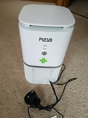 Air Purifier with True HEPA Active Carbon Filter, Hay Fever High Pollen No Ozone