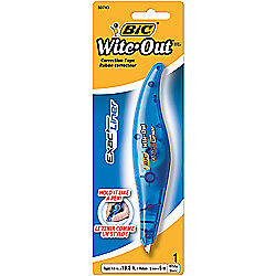 BIC(R) Wite-Out(R) Exact Liner(R) Correction Tape, White, 236in.