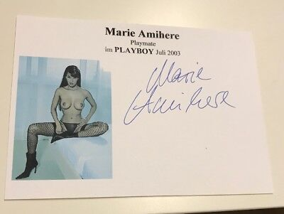 Marie Amihere Autogramm